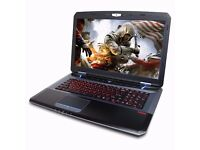 GAMING FANGBOOK III 750,16GB,GTX 770M 3GB + BOXED,SUMMER SALES, LAPTOP BAG, NOT ALIENWARE,MSI, ASUS
