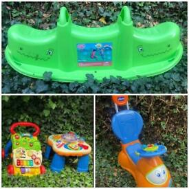 Various outdoor toys