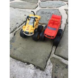 Nickelodeon Blaze cars toys