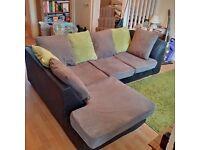 Corner sofa, good condition £80