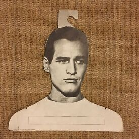 Paul Newman coat hanger, rare, vintage, collectible item