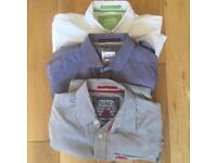 x3 Superdry shirts (long-sleeved, size small)