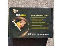 TBS6920 DVB-S2 TV Tuner PCIe Card. High Definition Satellite TV Card.