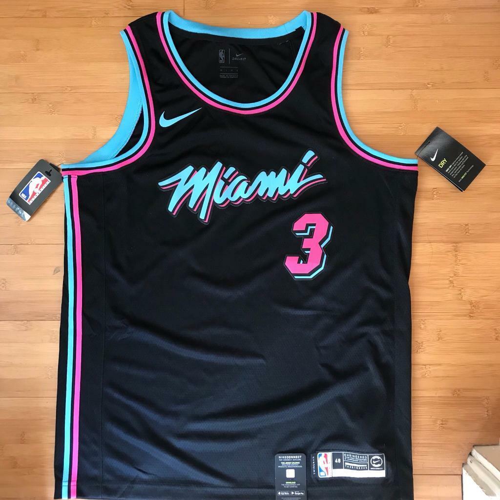 pretty nice 8a50d e77d7 Miami Vice Dwyane Wade Jersey | in Kingsbury, London | Gumtree