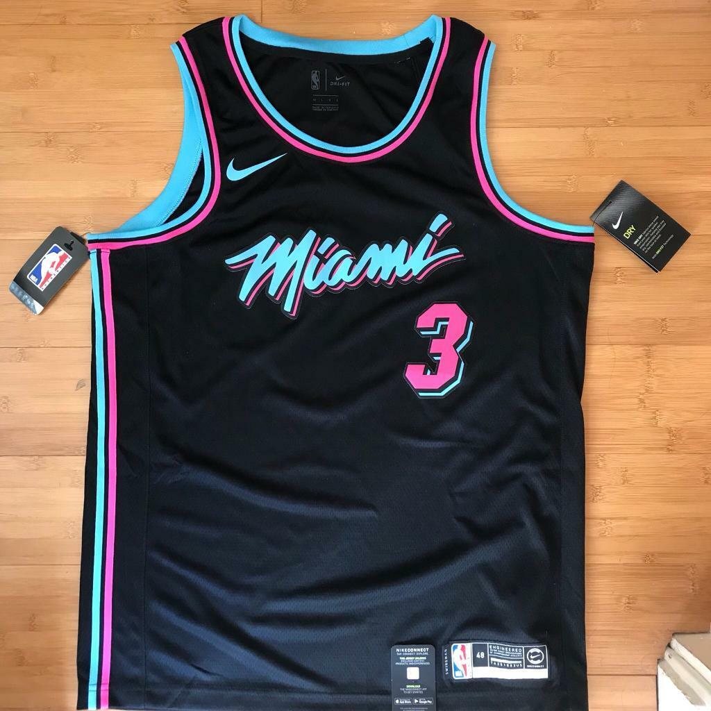pretty nice 71c92 853ab Miami Vice Dwyane Wade Jersey | in Kingsbury, London | Gumtree