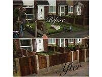 CW fencing and paving