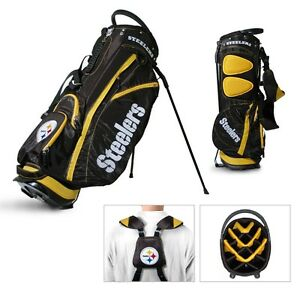 NFL Pittsburgh Steelers Fairway Stand Team Golf Bag