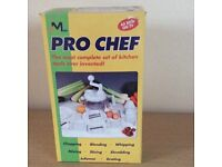 Pro chef, complete set of kitchen tools