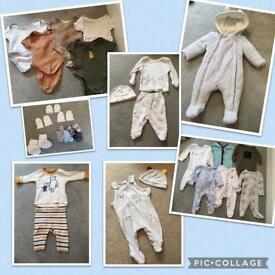 Lovely Newborn/First Size Bundle! Baby boy