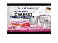 Domestic ironing
