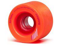 orangatang keanu 66mm skateboard wheels with bearings