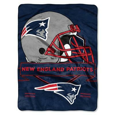 60x80 Plush Raschel Throw Blanket (New England Patriots 60x80 Plush Raschel Throw Blanket Prestige Design)