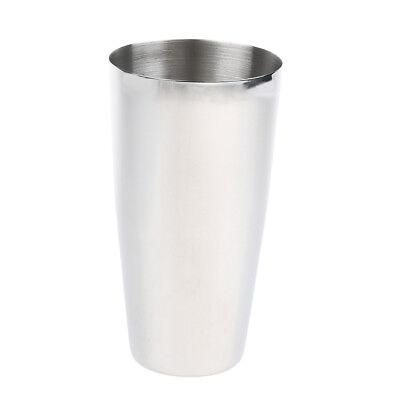 Malt Cup Stainless Steel Milkshake Ice Cream Mixer Mixing Cup Rust Resistant