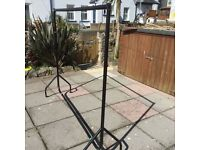 Large portable push together hanging rail. Ideal for car boot !!
