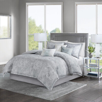 Madison Park Emory 7 Piece Cotton Sateen Comforter Set