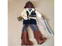 Jack Sparrow Outfit 5/7 year Excellent Condition