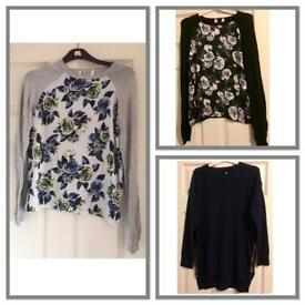 Women's brand new jumpers