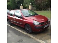 2002 Renault Clio 1.2 Expression 3 Door Hatchback £449