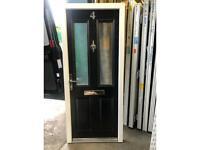 used upvc pvc door