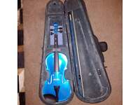 3/4 violin inc bow and case
