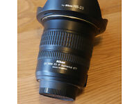 Nikon AFS 60mm f2.8 G ED Lens