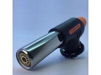 FLAME GUN BLOW TORCH KIT BUTANE GAS WELDING CAMPING PLUMBING BBQ FLAMETHROWER.**