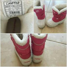 Campri snow boots - pink size C7