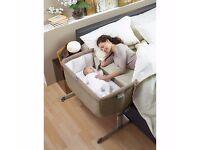 Chicco Next 2 Me Bedside Side Sleeping Crib Lightweight Travel Height Adjustable Unused Brand New