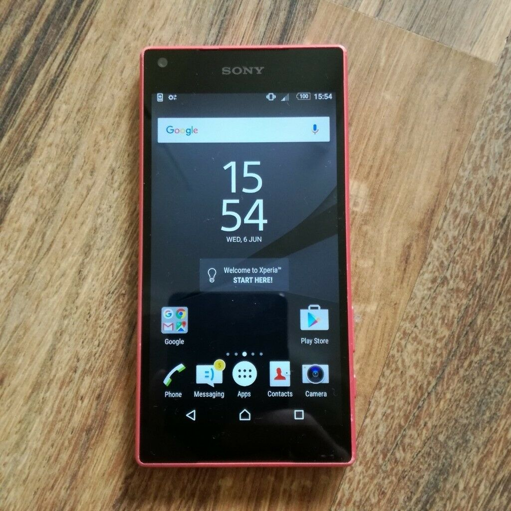 reputable site dc9a5 a642a Sony Xperia Z5 Compact Waterproof (Vodafone) - Coral - 4G - 32 GB -  Smartphone 23mp Camera | in Bedford, Bedfordshire | Gumtree