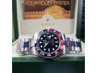 Rolex GMT Master 2 - Coca Cola Edition, Oyster Bracelet. New, Boxed with Paperwork
