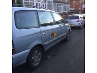 Hyundai Trajet 6 seater taxi plated