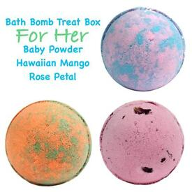 Bath Bomb Set For Her
