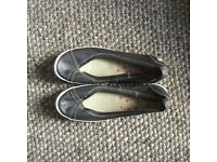 Softinos, size 8 and only worn once