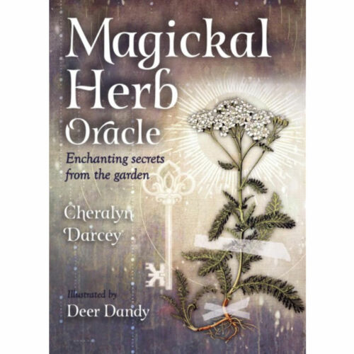 Magickal Herb Oracle Deck w/ Booklet by Cheralyn Darcey (2019) Botanical Cards