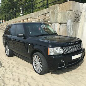 RANGE ROVER VOGUE WITH OVERFINCH UPGRADE