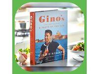 Gino'S Italian Escape: A Taste Of The Sun Hardback Book