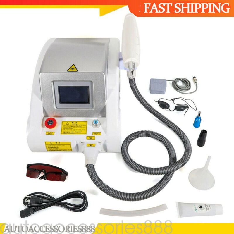 LASER ND YAG Tattoo Pigment Permanent Removal Eyebrow Beauty Machine US STOCK