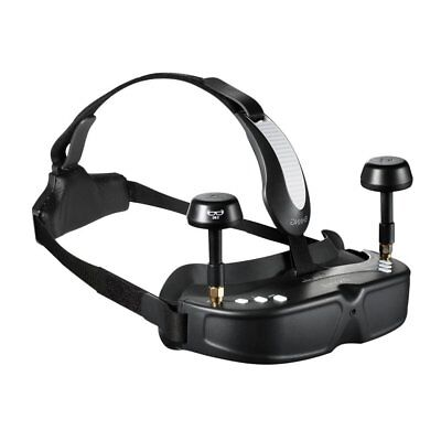 EHANG Ghostdrone 2.0 VR FPV Black Headset Goggles Android Compatible Brille NEW