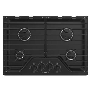Amana® AGC6540KFB 30-Inch Gas Cooktop With 4 Burn (BD-1628)