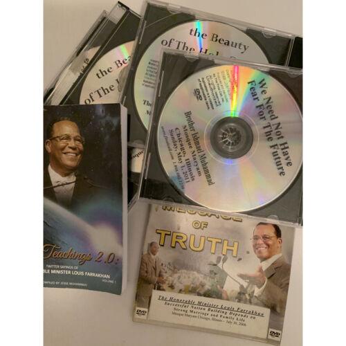 Louis Farrakhan Collection of 5 CD + 1 Book