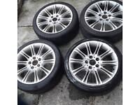 bmw 18 inch wheels genuine mv2's