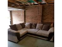 5 seat corner sofa unit
