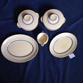 Art Deco - Clarice Cliff 21 piece 'Odilon' dinner service