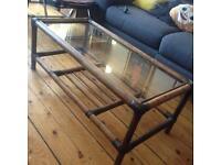 Bamboo cane coffee table £15
