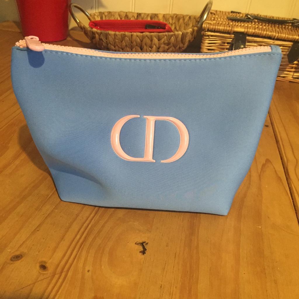 Genuine Dior makeup bag