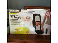 Homemedics Shiatsu Massager and heat. Boxed Refurbished Product