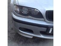 2002 BMW e46 touring xenon headlights