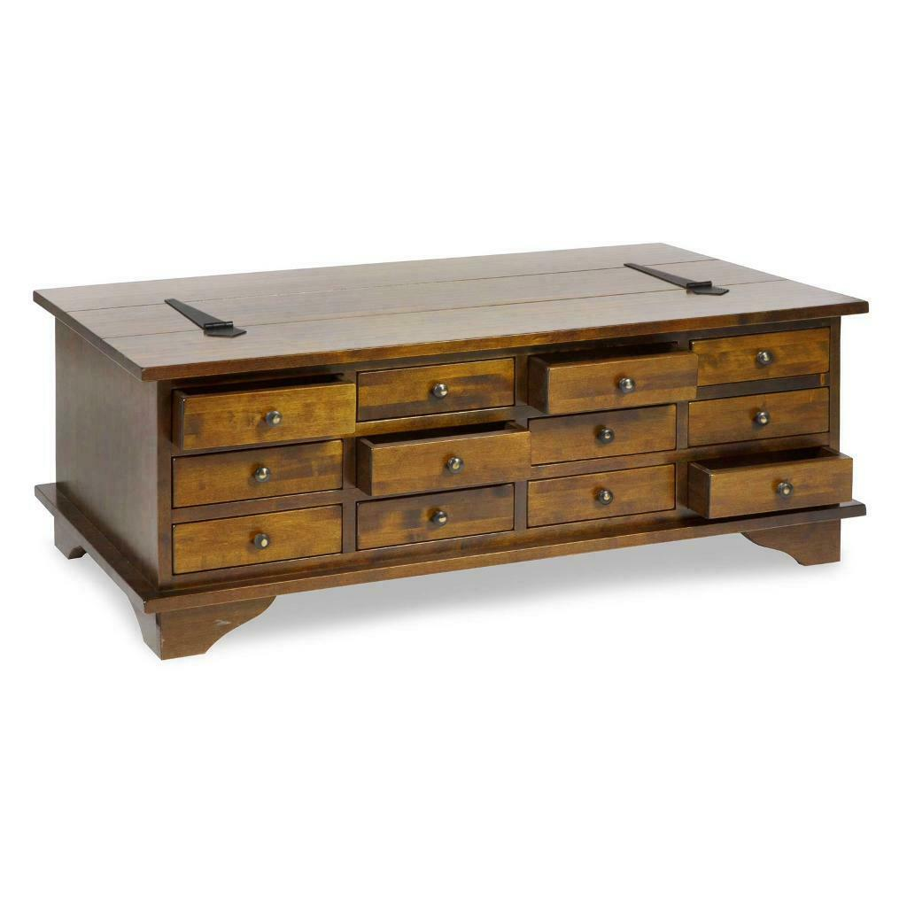 12 drawer large coffee table (apothecary) | in Andersonstown, Belfast | Gumtree