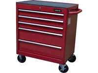 Brand New Halfords 5 Drawer Tool Cabinet / Tool Box / RED / 2018 / FREE Local Delivery