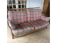 Ercol 3 seater sofa - excellent second hand condition, really comfortable and washable covers.